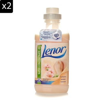 Lenor - Amande douce - Lot de 2 assouplissants Lenor - 711 ml - 2005653