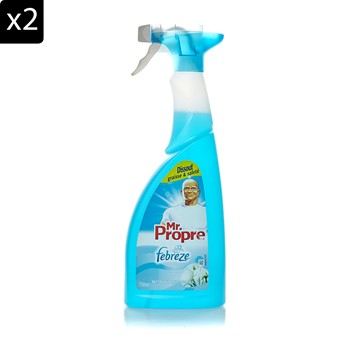 Mr Propre - Pureté de coton - Lot de 2 Mr Propre nettoyant multi usage spray - 750 ml - 2005662