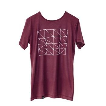 Colorblind Apparel - T-shirt manches courtes - bordeaux
