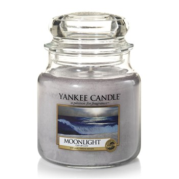 Yankee Candle - Clair de Lune - Giara media - bianco