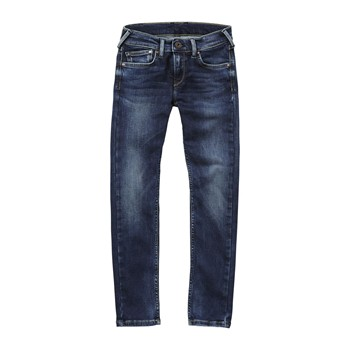 Pepe Jeans London - Finly - Jean droit - denim bleu - 2010127
