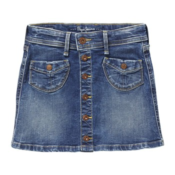 Pepe Jeans London - MADDIE - Jupe - denim bleu - 2010152