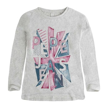 Pepe Jeans London - CECILIA - T-shirt - gris chine - 2010158