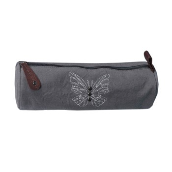 Kid'abord - Pack Butterfly - Trousse ronde - gris - 2024790