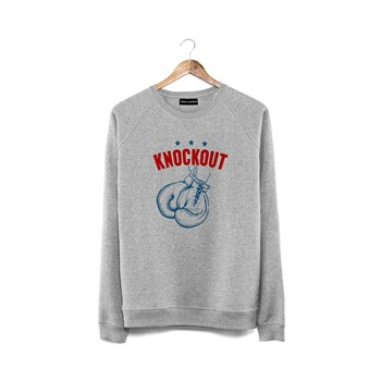 French Disorder - Knockout - Sweat-shirt - gris chine - 2031646