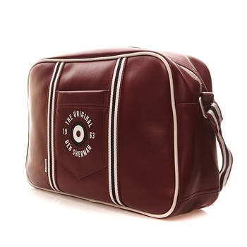 Ben Sherman - Original Target Flight Bag - Sac de voyage - bordeaux - 1855862