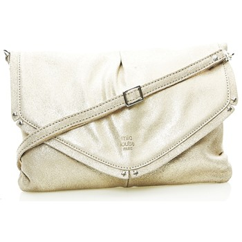 Liv - Sac en cuir - or