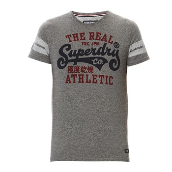 Superdry - Real Tokyo Tee - T-shirt - gris - 1996243