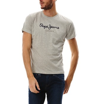 b749e9745a12 Pepe Jeans London Eggo - T-shirt manches courtes - gris chine