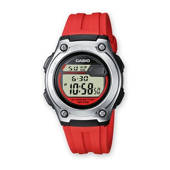 Casio - Reloj digital - rojo