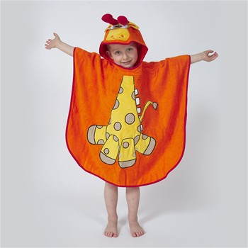 Zanimo - Poncho de bain - orange
