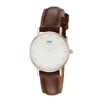 Daniel Wellington - Montre bracelet en cuir - marron - 2078030