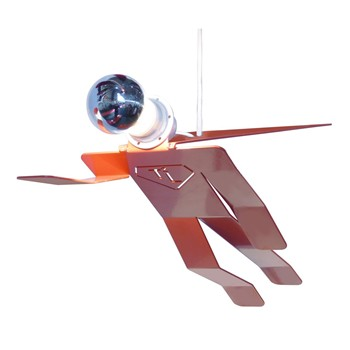 SuperMoonwalk - Lampe suspension - orange