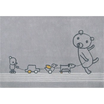 Art for Kids - Tapis - gris - 2084486