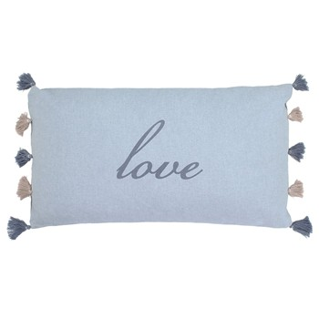 Art for Kids - Coussin rectangulaire - bleu - 2084504