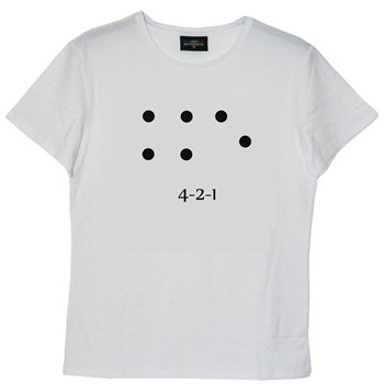 Frenchcool - 4-2-1 - T-shirt - blanc - 2085672