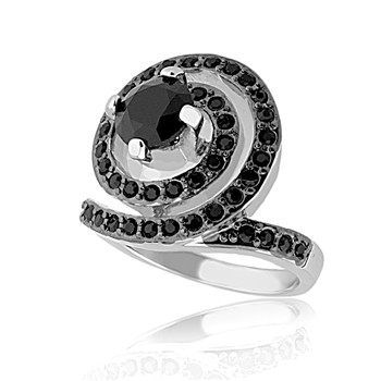 Bague à dames - La Louisette - Ring - schwarz