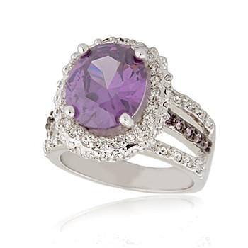 Bague à dames - La Dorine - Ring - violett