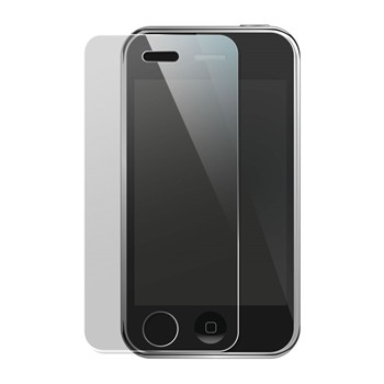 iPhone 3G, iPhone 3GS - Film protecteur en verre trempé - transparent