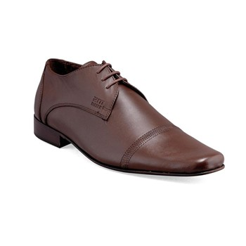 Pierce - Derbies en cuir - marron