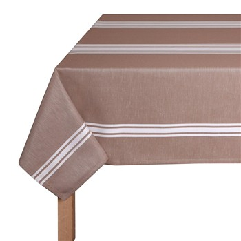 Jean Vier - St-Jean-de-Luz - Nappe de table - marron - 2109101