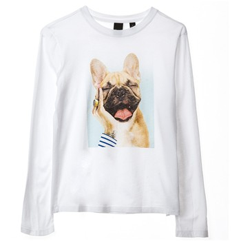 Chienmbo - T-shirt manches longues - blanc
