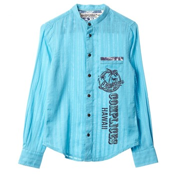 Complices - Chemise - turquoise - 2103828