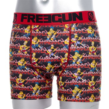 Freegun - Shreddes Simpsons - Boxer - rouge - 2115456