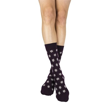 My Lovely Socks - Charles - Mi-chaussettes - prune - 2123186