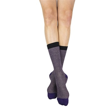 My Lovely Socks - Victor - Mi-chaussettes - prune - 2123238