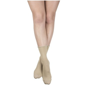 My Lovely Socks - Lorette - Mi-mollets - beige - 2123269
