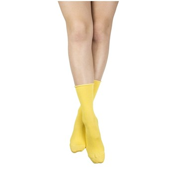My Lovely Socks - Lorette - Mi-mollets - jaune - 2123273