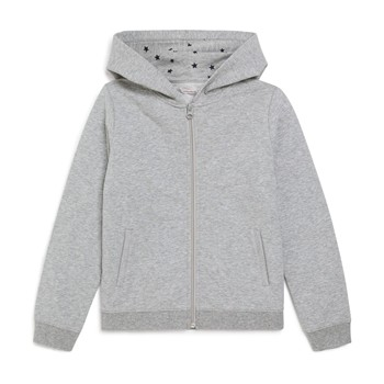 Sweat à capuche - gris chine