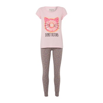 Ensemble t-shirt et pantalon - rose