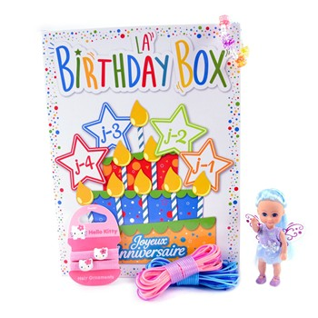Birthday box - multicolore