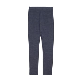 Legging - denim bleu