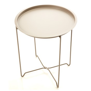 Table basse - gris clair