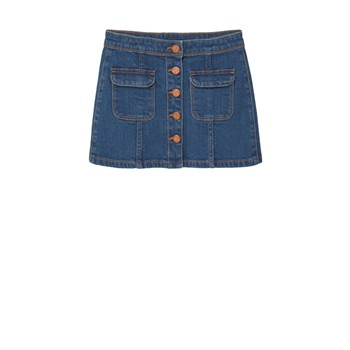 Mango Kids - Jupe - denim bleu - 2169427