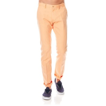 Chino-Hose - orange