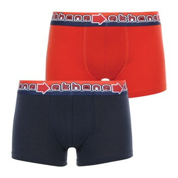 Athena - Easy color - Lot de 2 boxers - multicolore - 2185344