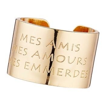 Bam - Mes amis mes amours mes emmerdes - Anillos - amarillo