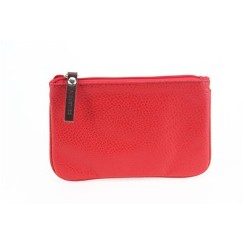 Basic - Trousse en cuir - rouge