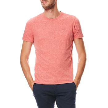 Tommy Jeans - T-shirt manches courtes - corail