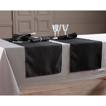 Becquet - Chemin de table - noir - 2188210