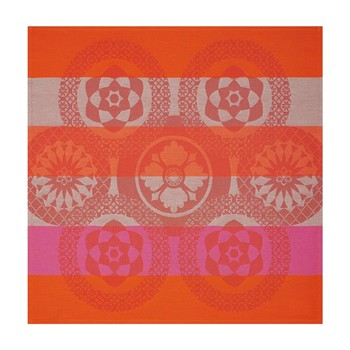 Le Jacquard Français - Piazzetta - Serviette de table - orange - 2191442