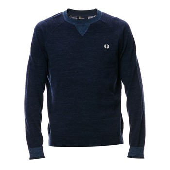 Fred Perry - Sweat-shirt - bleu brut - 2128796