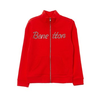 Sweat-shirt imprimé - rouge