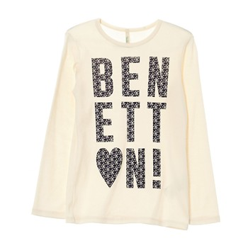 Benetton - T-shirt - rose clair - 1935925