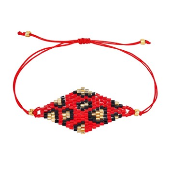 Indian Summer - Bracelet cordon - multicolore