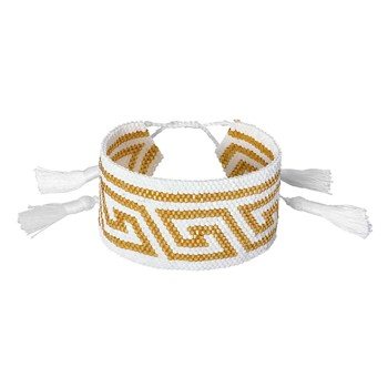 Indian Summer - Bracelet manchette - multicolore